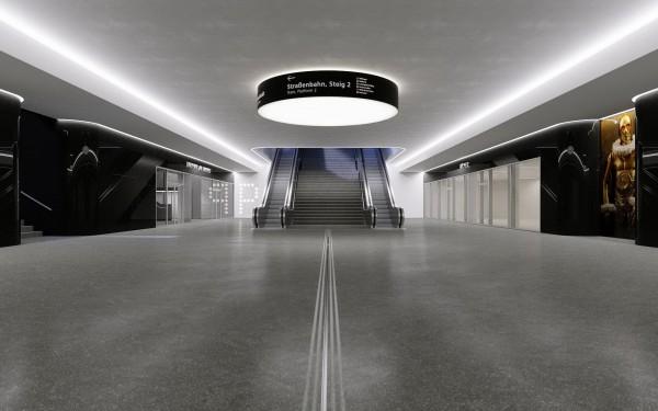 Baustellen-Besichtigung neues Parkhaus am Bahnhof