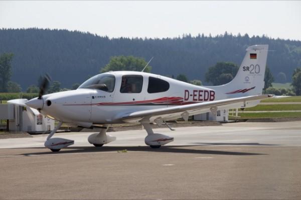 Rundflug über Ulm/Bodensee mit rotarischem Piloten