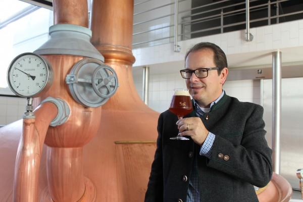 Bier-Tasting mit Braumeister Bernhard Frey